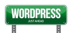Wordpress Road Sign Illustration