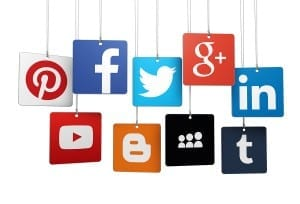 Social media sharing buttons make it easy for users to share your content.