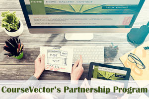 website design partnerships with CourseVector