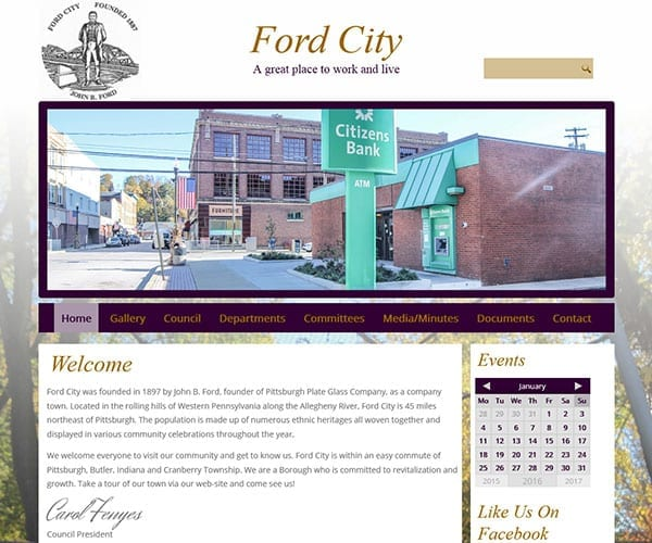 Ford City Borough