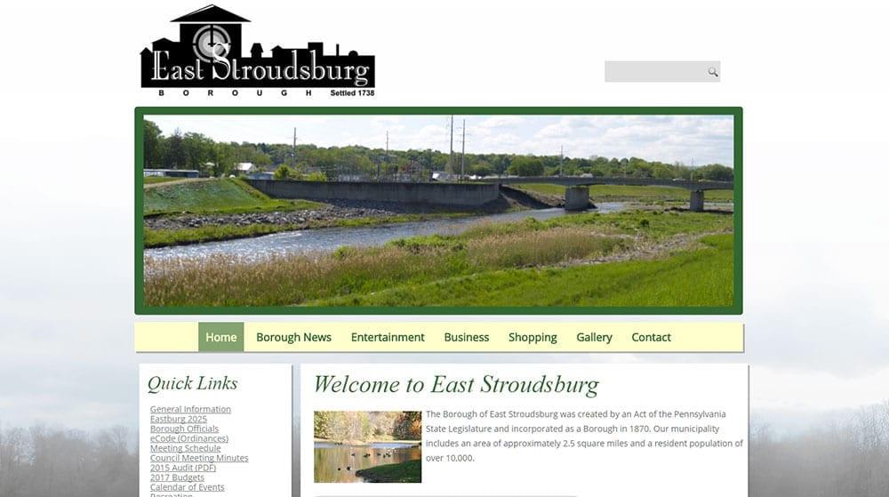 East Stroudsburg Borough