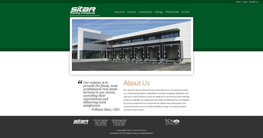 Sitar Realty Company