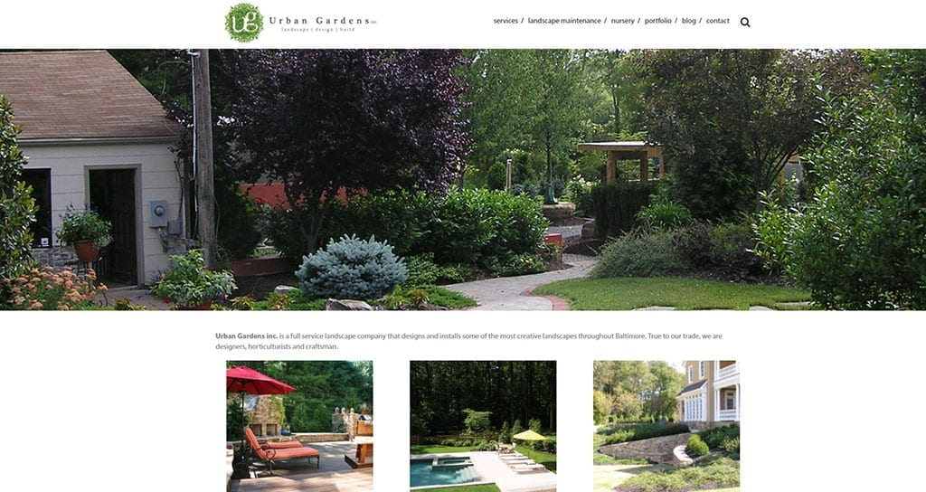 Delightful The Weather Might Be Cold, But Itu0027s The Perfect Time To Think About Spring  Gardening Plans And Landscaping Ideas. Urban Gardens Inc., A Baltimore  Landscape ...