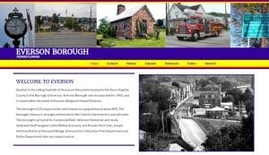 Everson Borough Website Design