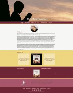Sherri Sengvousanna Website Design