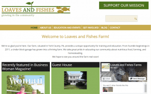 Loaves and Fishes Farm Website