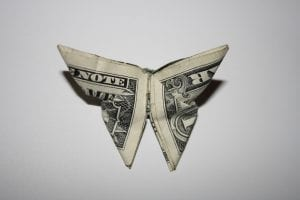 origami dollar sales tax rules