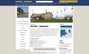 Dupont Borough Website