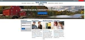 vandoren oil website design