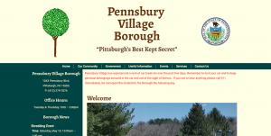 Pennsbury Village Borough Website Design