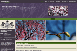 Rimersburg Borough Website Design