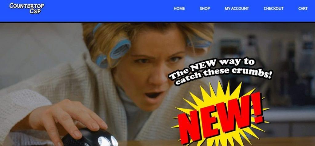 Counter Top Cop Website Design