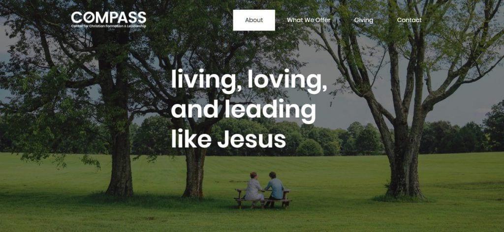 Compass Center Richmond VA website