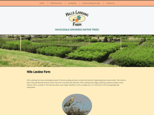 Hills Landing Farm website