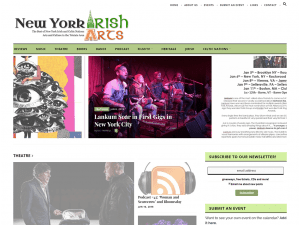 New York Irish Arts Website