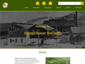 Shinglehouse Borough Website