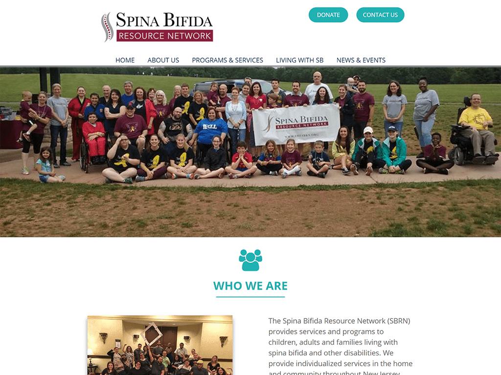 The Spina Bifida Resource Network (SBRN) Website