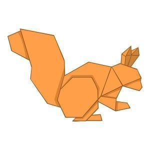 CourseVector email hosting origami squirrel