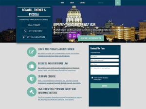 BTPA Law Firm Website