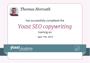 seo copyrighting certification tomh