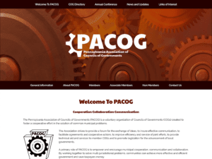 PACOG website redesign