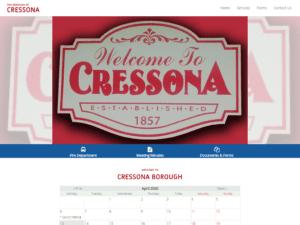 Cressona Borough Website Design