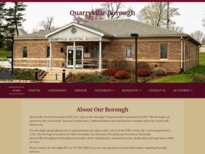 Quarryville Borough Website