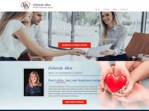 custom health insurance wordpress theme