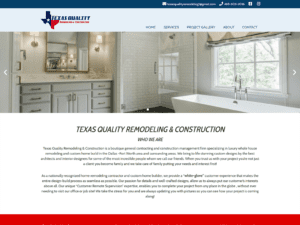 Texas Quality R&C website