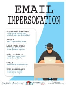 May 2021 Free CyberSafe Work Poster