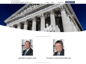 THE LAW OFFICE OF R. JEFFREY HARTLAUB, LLC website